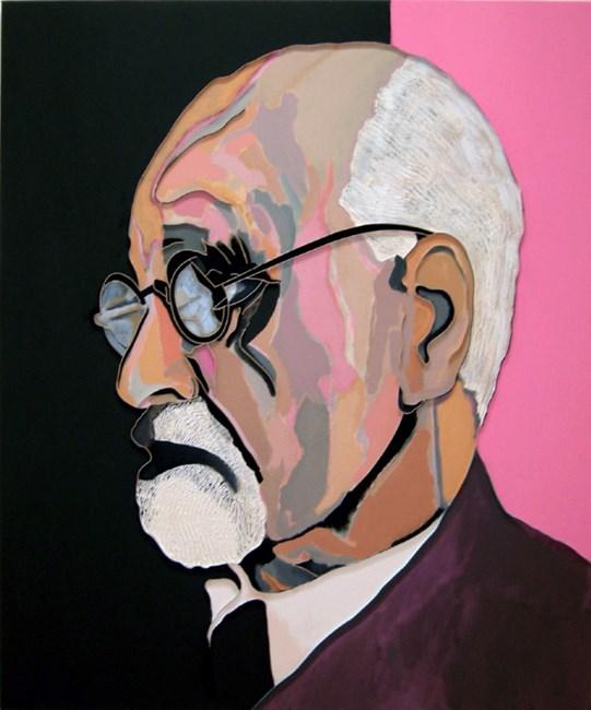 Pink Freud by Lee Waisler contemporary artwork