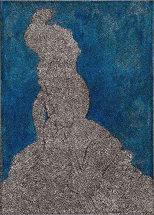 Untitled (AIAMTHMFS) by Daniel Boyd contemporary artwork