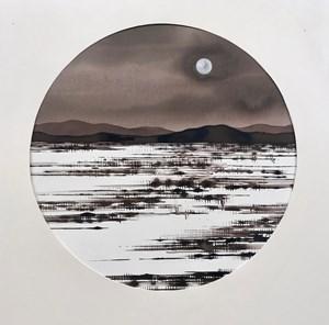 Desert Moon by David Middlebrook contemporary artwork