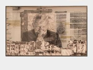 The Wrinkles of the City, Istanbul, Ismet Erko̤, Work In progress, Turkey by JR contemporary artwork