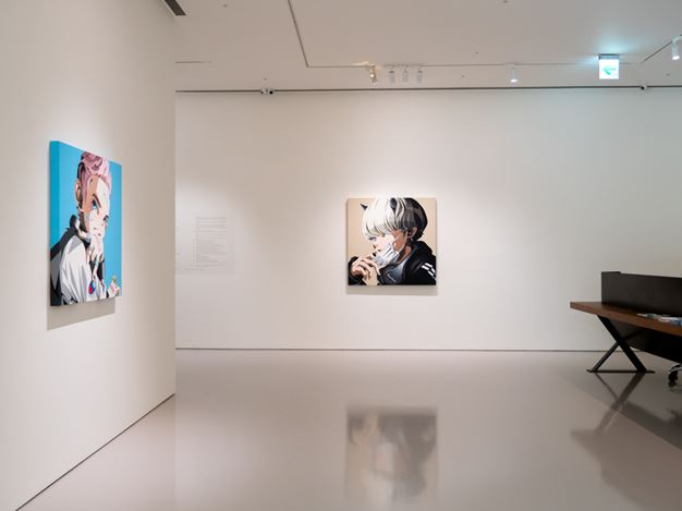 Exhibition view: Hiroyuki Matsuura, SUPER ACRYLIC SKIN – Quiet World, Eslite Gallery, Taipei (5 September–4 October 2020). Courtesy Eslite Gallery.