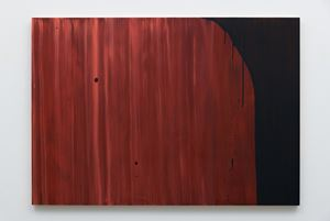 Wood Grain #5 by Mike Kelley contemporary artwork