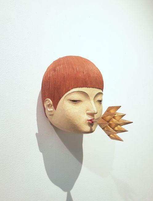Word Going Out No.3 by Daisuke Teshima contemporary artwork