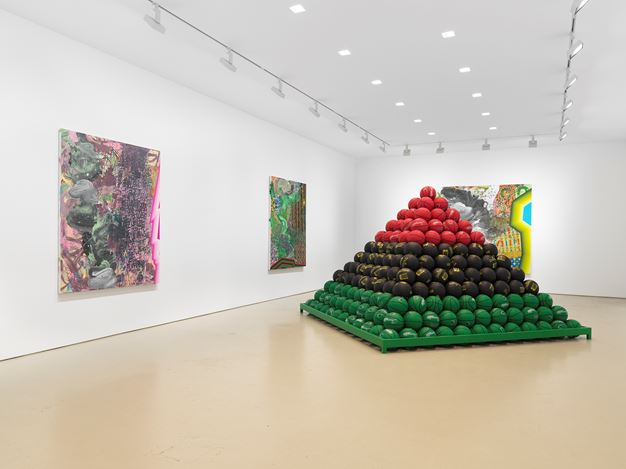 Exhibition view: David Huffman, Miles McEnery Gallery, West 21st Street, New York (14 November–21 December 2019). Courtesy Miles McEnery Gallery.