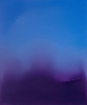 (Ultramarine Blue & Dioxazine Violet) by Jamie Teo Si Ru contemporary artwork