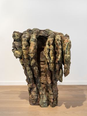 Roaming Rudia II by Ursula von Rydingsvard contemporary artwork