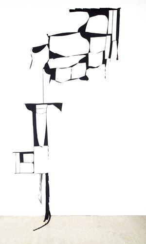 Etwas steht für etwas anderes by Marion Baruch contemporary artwork