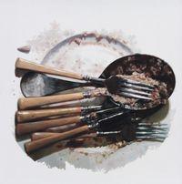 Untitled by Subodh Gupta contemporary artwork painting