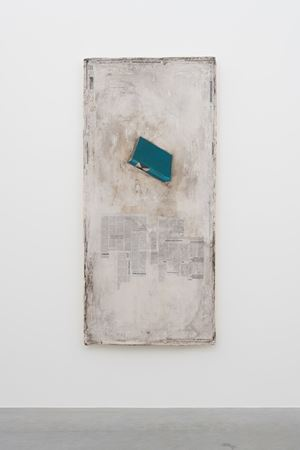 Falling Dictionary by Mark Manders contemporary artwork