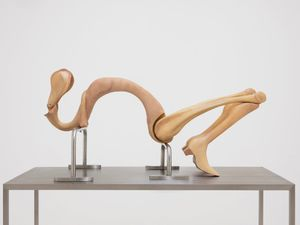 Almost Hysterical by Liao Wen contemporary artwork sculpture