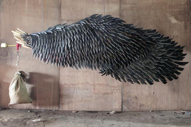 Left Wing Project (Belok Kiri Jalan Terus) Wing D by Alfredo & Isabel Aquilizan contemporary artwork