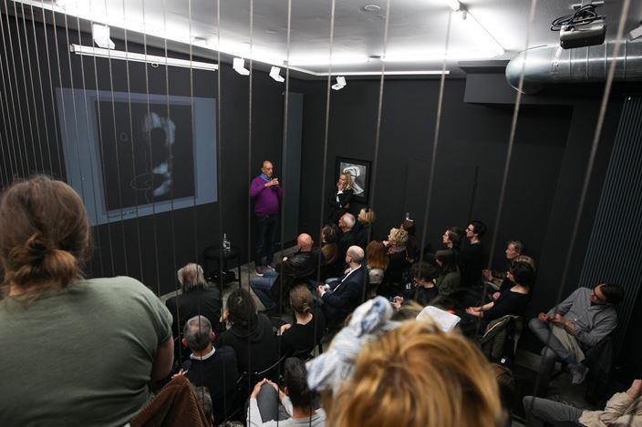 Exhibition view: Roger Ballen,The Theatre of Apparitions,Galerija Fotografija,Ljubljana (2 April–15 May 2019). CourtesyGalerija Fotografija.