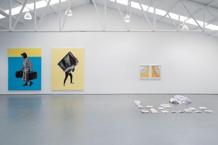 Exhibition view: Group exhibition, Bum bum ba ye [Under Pressure],Sabrina Amrani, Sallaberry, 52, Madrid (17 April–29 May 2021). Courtesy Sabrina Amrani, Madrid.
