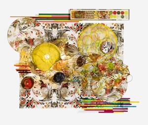 Quartet One by Judy Pfaff contemporary artwork