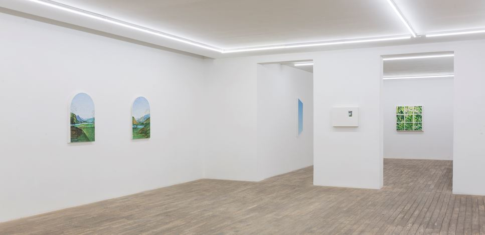 Exhibition view: Dong Dawei, Landscape Portrait,HdM GALLERY, Beijing (17 Octover–28 November 2020). Courtesy HdM GALLERY.
