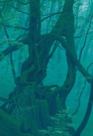 Tree Ring by Kazuyuki Futagawa contemporary artwork