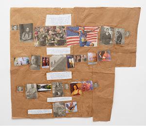 """""""L'Abécédaire de Georges Adéagbo: la civilisation parlant et faisant voir la culture""""..! (Entrer dans l'histoire) by Georges Adeagbo contemporary artwork"""