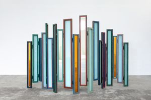 Usefulness of Uselessness - Compressed Window Screen No. 03 by Song Dong contemporary artwork sculpture