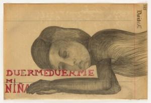 DUERME, DUERME, MI NIÑA by Sandra Vásquez de la Horra contemporary artwork