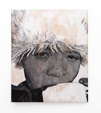 Esela Iti by Luyanda Zindela contemporary artwork painting, drawing