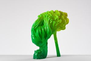 Shoeform (Tresses) by Patricia Piccinini contemporary artwork