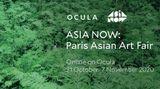 Contemporary art art fair, Asia Now 2020 at Ocula Advisory, London, United Kingdom
