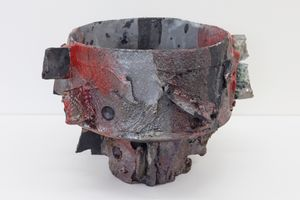 Asteroid fragment by Tracy Keith contemporary artwork