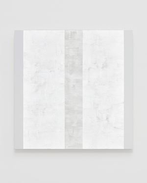 Untitled (Inner Band with White Sides) by Mary Corse contemporary artwork