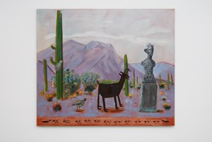 A Desert Road, Arizona by Raul Guerrero contemporary artwork