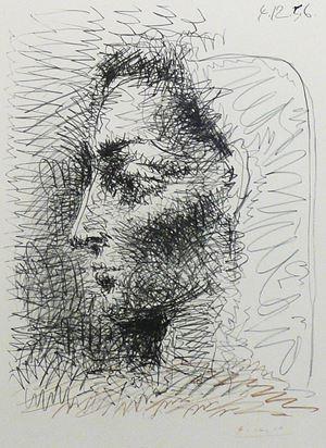 Portrait de Jacqueline by Pablo Picasso contemporary artwork