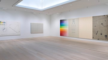 Contemporary art exhibition, Arakawa, Diagrams for the Imagination at Gagosian, 980 Madison Avenue, New York