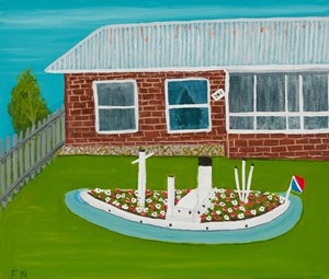 No 241 House by Frank Nowlan contemporary artwork