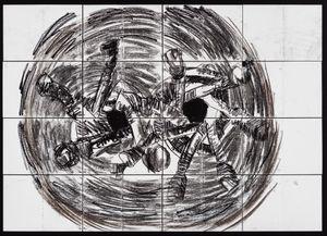 Antinomy Paradox (P3) by Pierre Mukeba contemporary artwork