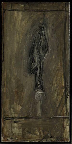 Tête de profil by Alberto Giacometti contemporary artwork