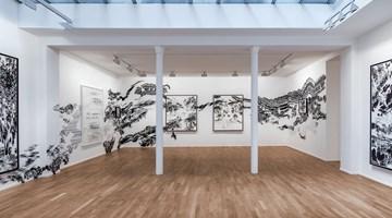 Contemporary art exhibition, Abdelkader Benchamma, Engramme at Templon, 30 rue Beaubourg, Paris