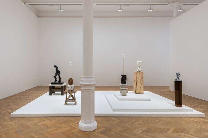 Exhibition view: Kevin Francis Gray, Pace Gallery, London (25 November 2020–13 February 2021). © Kevin Francis Gray. Courtesy Pace Gallery.