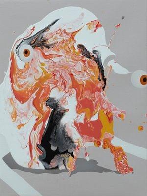 Marcado by José Castiella contemporary artwork painting