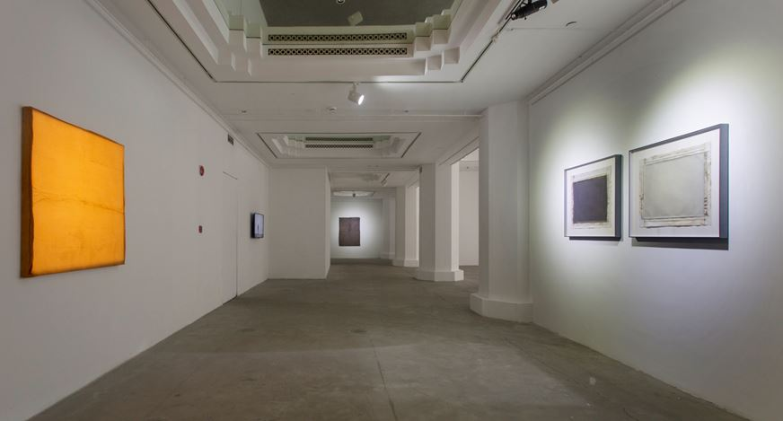 Exhibition view: Ni Zhiqi, Vacuum. Dry Land. Into the Room, Pearl Lam Galleries, Shanghai (3 November–30 December 2018). Courtesy the artist and Pearl Lam Galleries.