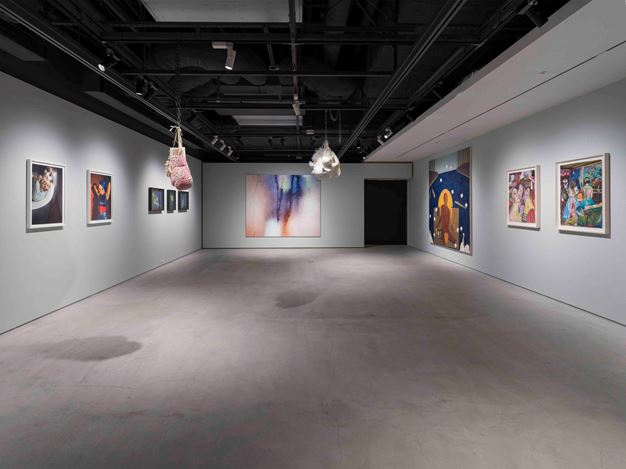 Exhibition view: Group Exhibition, all the women. in me. are tired., THE CLUB, Tokyo (25 January–5 March 2020). Courtesy THE CLUB.