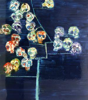 Tree of Life #4 by Reza Derakshani contemporary artwork