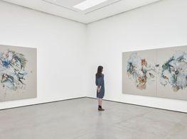 Christine Ay Tjoe 'Spinning in the Desert' at White Cube, Hong Kong