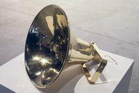 Megaphone by Martine Feipel & Jean Bechameil contemporary artwork sculpture