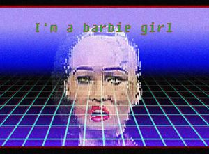 Barbie girl by Insane Park contemporary artwork