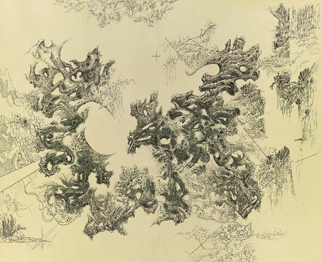Zan Zak Zen No. 36 by Leung Kui Ting contemporary artwork