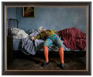 Fake Death Picture (The Suicide - Manet) by Yinka Shonibare CBE (RA) contemporary artwork