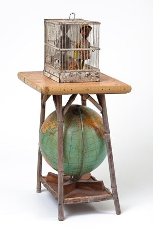 Globe Trotter by Betye Saar contemporary artwork