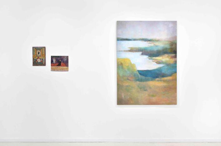 Exhibition view: Paul de Flers, Green Street, Almine Rech, Front Space, Rue de Turenne, Paris (2021). © Paul de Flers. Courtesy the Artist and Almine Rech.Photo: Rebecca Fanuele.