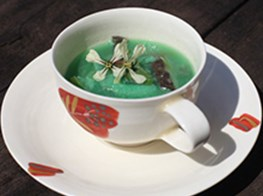 Soup Made From Fukushima Vegetables At Frieze Art Fair
