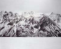 No Name Mountain by Bruno Augsburger contemporary artwork photography