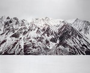 No Name Mountain by Bruno Augsburger contemporary artwork